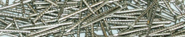 Pointe Inox fil cranté tête fraisée
