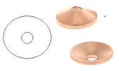 Contre-rivures en cuivre pour rivetage