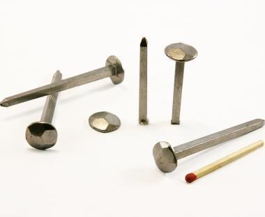 Clou forgé Acier poli Tête martelée (100 clous) L : 70 mm  - Ø 14 mm