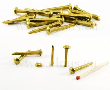 Bossette Laiton L : 27 mm Ø : 7 mm
