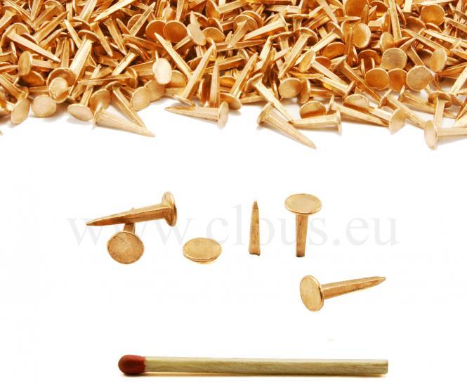 Semences tapissier cuivre (1kg) L : 18 mm