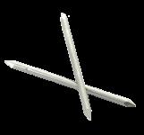 GOUJONS INOX A4 316 L 2 pointes Ø 3.0 mm (1kg) L : 60 mm - Ø 3.0 mm