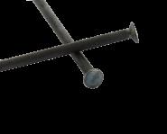 Pointe Acier trempé tête ronde Ø 2.4 mm (1kg)